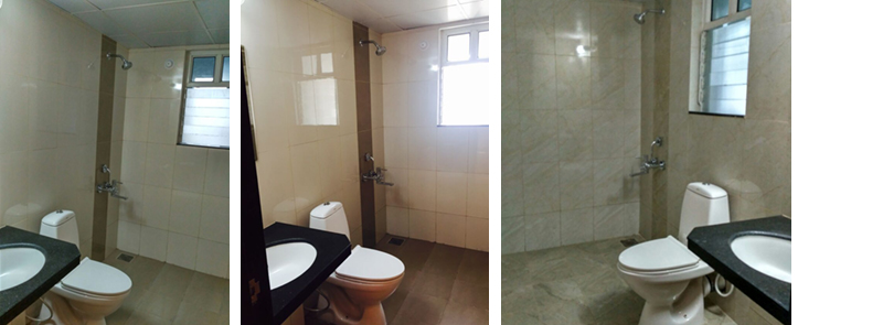 Flats in Hinjawadi Features Bathroom