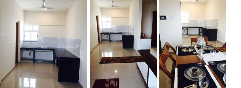 Flats in Hinjawadi Features Kitchen